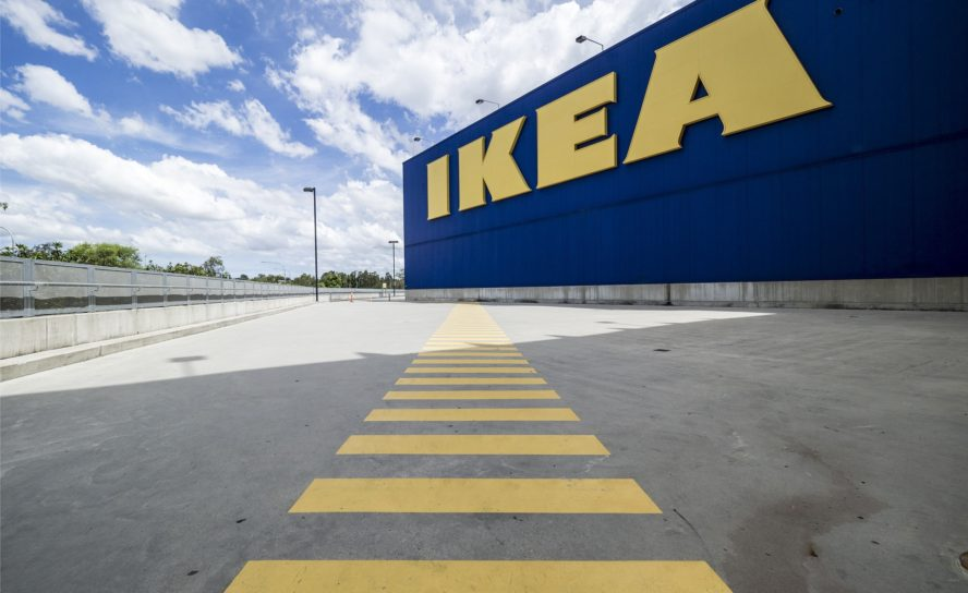 Ikea öppnar varuhus i Indien